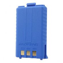 АКБ Baofeng UV-5R стандартной емкости 1500mAh BL-5B синий