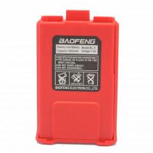 АКБ Baofeng UV-5R стандартной емкости 1500mAh BL-5R красный