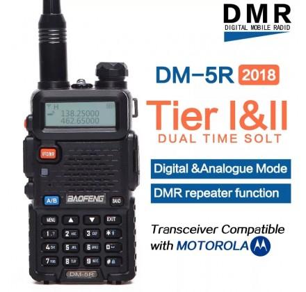 Baofeng DM-5R Plus Tier1 и Tier2