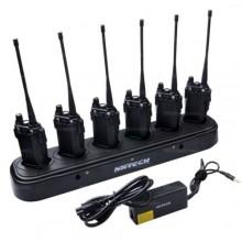 Док. станция (зарядное устройство) для 6шт. UV-82
