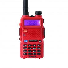 Радиостанция Baofeng UV-5R Красная (RED)