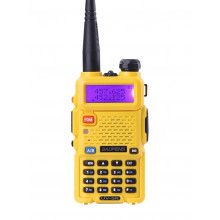 Радиостанция Baofeng UV-5R Желтая (Yellow)