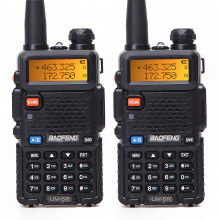 Комплект Радиостанций Baofeng UV-5R (5W) (2 шт.)