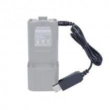 USB зарядка Baofeng для увеличенного аккумулятора 3800 мА/ч. UV-5R