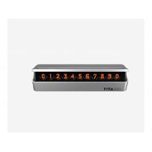 Временная карта парковки Xiaomi TITA Temporary Parcing Card Bcase Tblack Silver